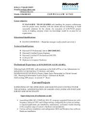 Sample Resume It Professional by 28 Team Lead Sample Resume Team Leader Resume Supervisor Cv
