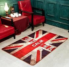canapé angleterre style britannique angleterre drapeau tapis drapeau britannique