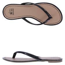 flip flop montego bay club sandbar women s flat flip flop sandal payless