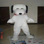 Halloween Mascot Costumes Snoopy Dog Size Cartoon Mascot Costume Fancy Dress
