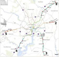 Dc Metro Blue Line Map the brown line the beltway line and other metro ideas that didn
