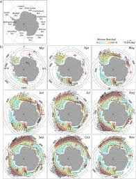 C 226 U Like Everywhere - sea ice drift in the southern ocean regional patterns