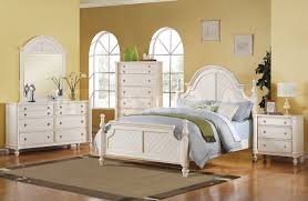 Bedroom Furniture Contemporary Elegant White Bedroom Furniture Low Profile Brown Hardwood
