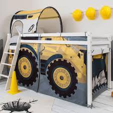 digger design cabin bed with ladder u0026 tent noa u0026 nani