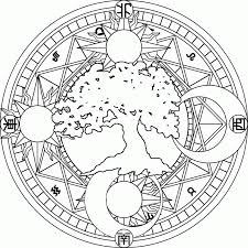9 pics of sun and moon mandala coloring pages moon and star