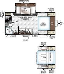 small travel trailer floor plans 2018 rockwood mini lite 2104s bob scott rv