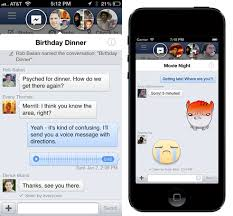 chat between iphone and android the chat heads different for ios and android users