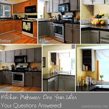 kitchen makeover update one year later jenna burger