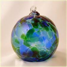 cathedral collection cranberry green blown glass ornament 5