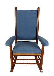 custom kennedy rocker cushions from your fabric rivanna furniture