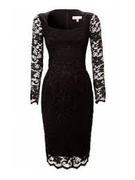 black dress company a sophisticated fitted black dress from the pretty dress company