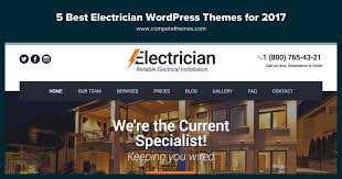 top 11 best electrician wordpress themes for contractors and companies
