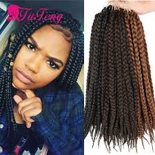 braided extensions crochet box braids 12 inch box braid extensions 80g pack top