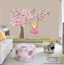 Cherry Blossom Tree Wall Decal For Nursery Cherry Blossom Tree Wall Decal Room Big Vinyl Sticker Baby