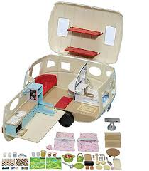 Calico Critters Play Table by Calico Critters Caravan Family Camper Toys
