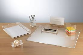 Acrylic Desk Organizers Desk Accessories Stationery Pinterest Accessories Desks And
