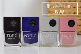 nails inc gel effect aw 2014 a beauty junkie in london