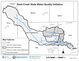 Boone Map Shell Creek Watershed Landowners Eligible For Special Water