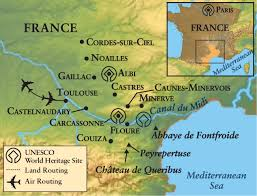 Toulouse France Map by Town And Country Life In Languedoc