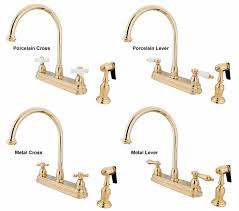 polished brass kitchen faucet gooseneck kitchen faucets