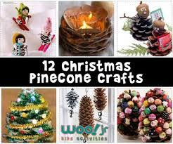 pinecone crafts woo jr activities