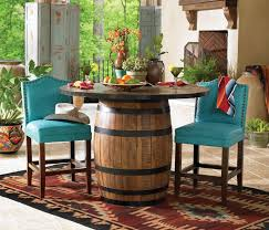 Best  Whiskey Barrel Table Ideas On Pinterest Barrel Coffee - Barrel kitchen table