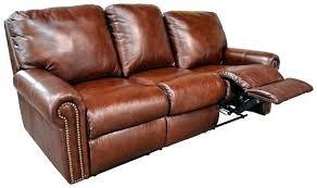 Top Grain Leather Reclining Sofa Cortez Premium Top Grain Gray Leather Reclining Sectional Sofa