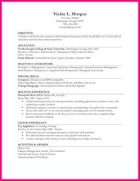 resume templates for no work experience resume sample for high