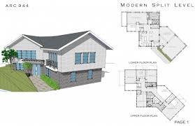 split level home floor plans architectural decorating plan room