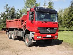 used mercedes benz actros 3335ak 6x6 tipper 3 sided hds tirre