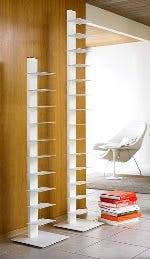 Sapiens Bookshelf Sapien Bookcase Now In White Apartment Therapy