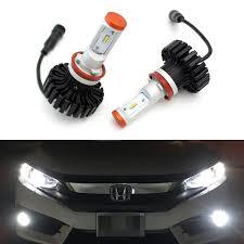 lexus is300 dual retrofit q45 xenon amazon com ijdmtoy 2 high power led headlight bulbs h11 h8 h9