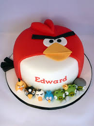 birthday cakes images cute angry birds birthday cake for child