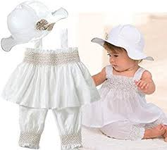 baby clothes toddler ruffle dress hat