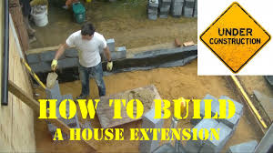 Estimate On Building A House by How To Build A Home Extension In 5 Minutes Timelapse