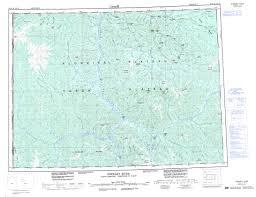 Yukon River Map Printable Topographic Map Of Stewart River 115o Yk
