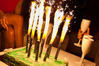 candele scintillanti fontane da interno scintillanti