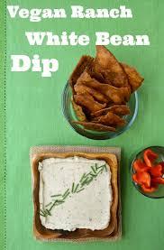 creamy vegan ranch white bean dip michelle dudash