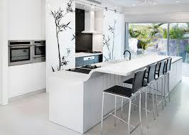 white kitchen island with breakfast bar kitchen kitchen island integrated with countertop breakfast bar