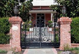wrought iron garden gate ornamental estate gates castle gate