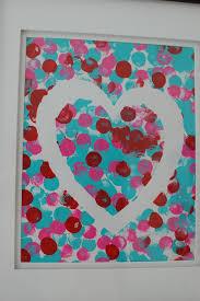 pinkie for pink kid u0027s valentine u0027s day art projects