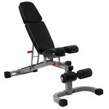 amazon com xmark fid flat incline decline weight bench xm 7604