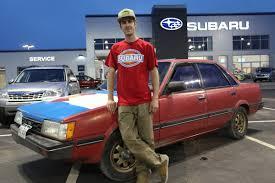 subaru loyale 1990 stevo u0027s 1986 subaru gl 10 turbo sedan youtube