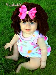 Pebbles Halloween Costume Toddler Halloween Costume Baby Hat Cabbage Patch Hat Dora Costume