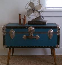 storage trunk coffee table interesting blue small storage trunk coffee tables printableboutique