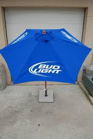 Bud Light Patio Umbrella Bud Light 7 Ft Patio Umbrella Garden Outdoor