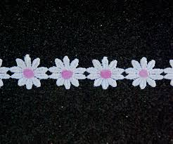 cotton flower trim