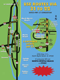 barefoot landing map the 25 best map of myrtle ideas on charleston
