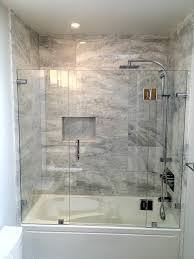 Glass Bathroom Shower Enclosures Wonderful Frameless Shower Enclosures Glass World Bathtubs Drop In