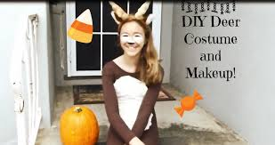 Deer Halloween Costume Baby Diy Deer Costume Makeup